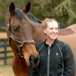 Para-equestrian Becca Hart and Pippin