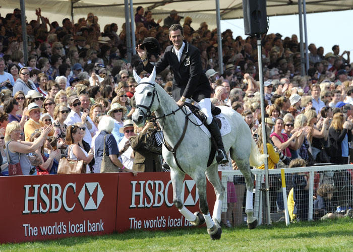 New Zealand Mark Todd Land Vision Badminton Horse Trials 2011 winner