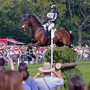 Hawley Bennett and Gin & Juice at Badminton Horse Trials 2011