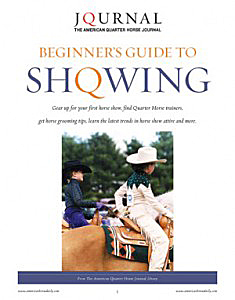 AQHA Beginners Guide to Showing