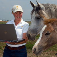 Dr. Christine Skelly, My Horse University founder