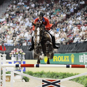 McLain Ward. Copyright Nancy Jaffer.