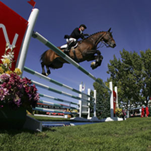 Show Jumping. Courtesy Bob Langrish, Lexington Convention & Visitors Bureau