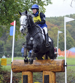 Irishbred Horse. Ringwood Magister ridden by Tiana Coudray. Photo by Nancy Jaffer