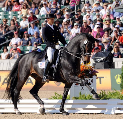 Steffen Peters and Ravel.