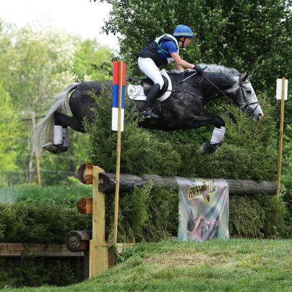 Tiana Coudray and Ringwood Magister. Copyright Nancy Jaffer