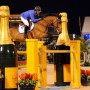 Brazil's Alvaro de Mirando won the $500,000 FTI Consulting 5-Star Grand Prix on AD Rahmannshof's Bogeno. © 2013 by Nancy Jaffer