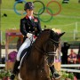 Great Britain's Charlotte Dujardin brought her country its second dressage gold medal aboard Valegro in the individual competition. ©  Nancy Jaffer)