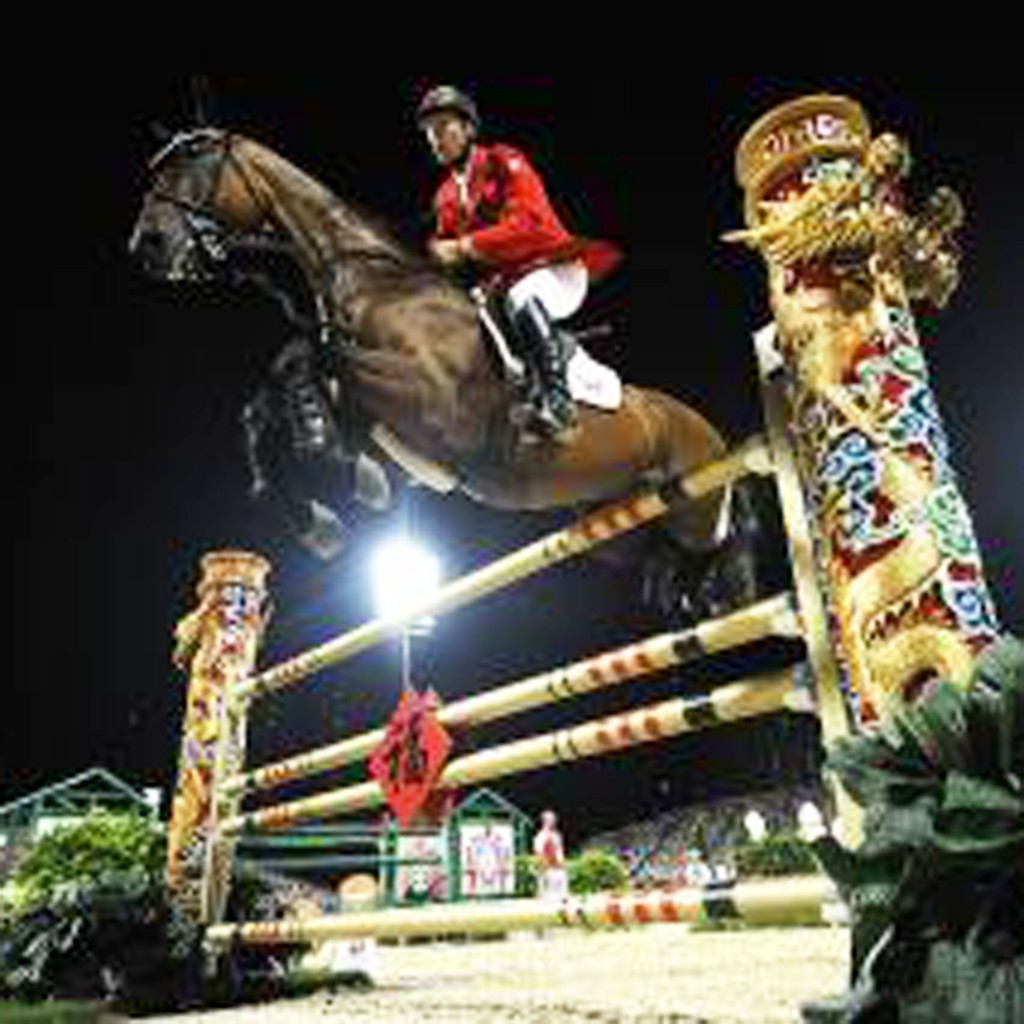 Canada&#039;s Ian Millar will set a new Olympic record across all sports with his 10th Olympic Games. Photo FEI/Kit Houghton