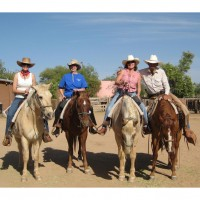 Rancho De La Osa Cowgirl Camp. Photo Equitrekking.com