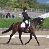 Rebecca Hart and Lord Ludger. Photo Lindsay McCall