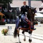 Steffen Peters took the National Grand Prix Dressage Championship on his number two horse, Legolas. &coppy; Nancy Jaffer