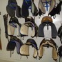 Organized tack room at Great & Small Therapeutic Riding Center in Boyds, MD.