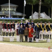 U.S. Young Rider team. Photo Sportfot