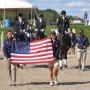 The U.S. Para-Dressage team in NY. Photo Lindsay McCall